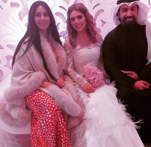 زواج هيا عبد السلام صور