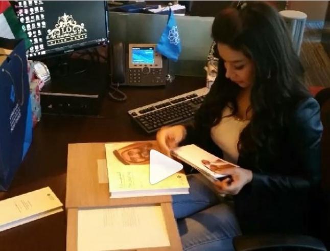 بالفيديو- كيف كان صباح لجين عمران في دبي اليوم؟   Laha Magazine