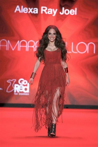 Alexa Ray Joel in Tamara Mellon