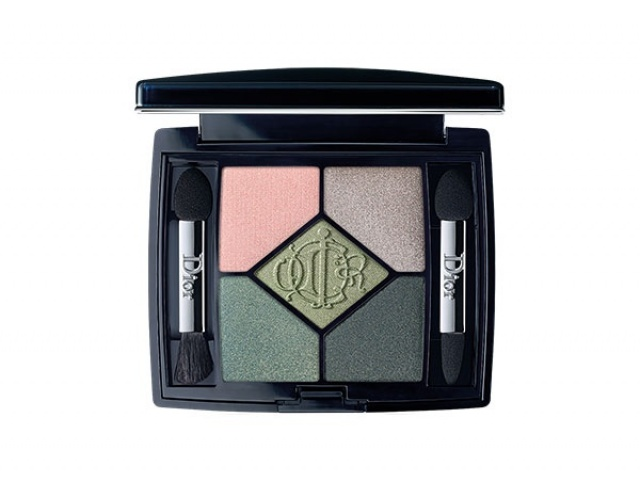 حيوية Dior Kingdom of Colours 5 Couleurs Couture Colors & Effects Eyeshadow Palette in House of Greens no.466