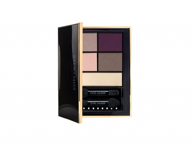 راقية Estée Lauder Pure Color Envy Sculpting Eye Shadow 5 Color Palette in Currant Desire