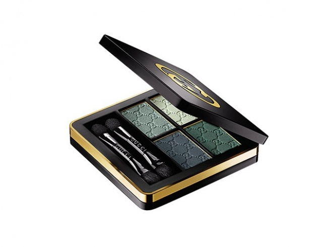 متألقة Gucci Magnetic Color Shadow Quad in Acquamarine Dream no.080