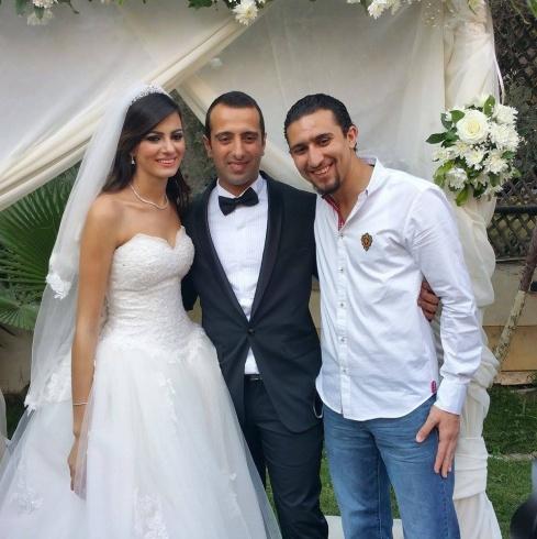 شاهد صور زفاف ملكة جمال مصر