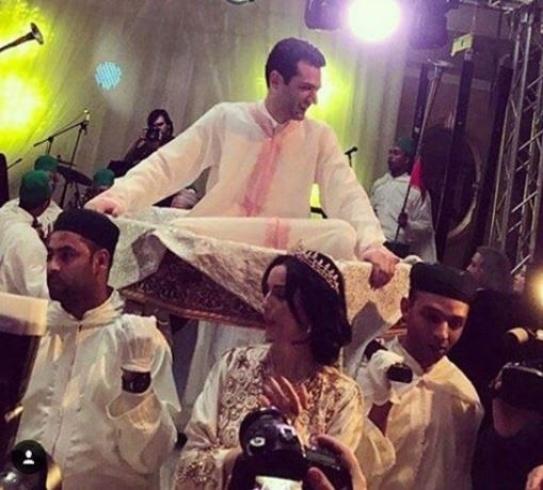 مراد يلدريم يردّ بقسوة على منتقدي احتفاله بزفافه على الطريقة المغربية!!