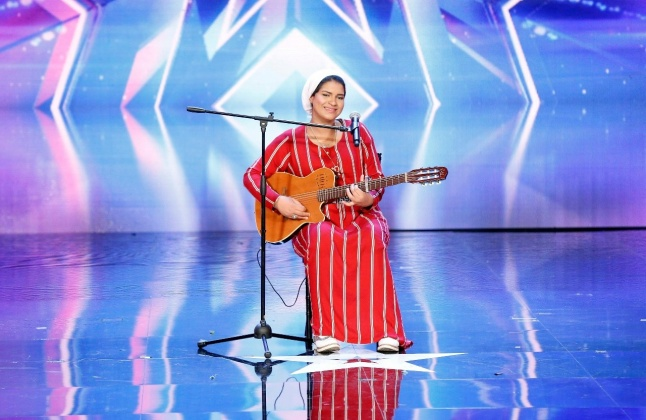 بالصورة - كيف ردّت نجمة Arabs Got Talent إيمان الشميطي على شيرين عبد الوهاب؟   Laha Magazine