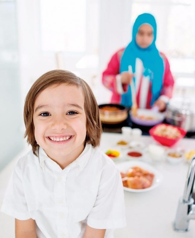 صيام الطفل الأول وفرحة رمضان
