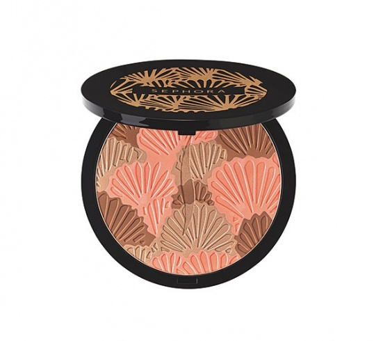 تصميم رائع Guerlain Terracotta Chic Tropic 5• لافتة Sephora Sun Disk Limited Edition