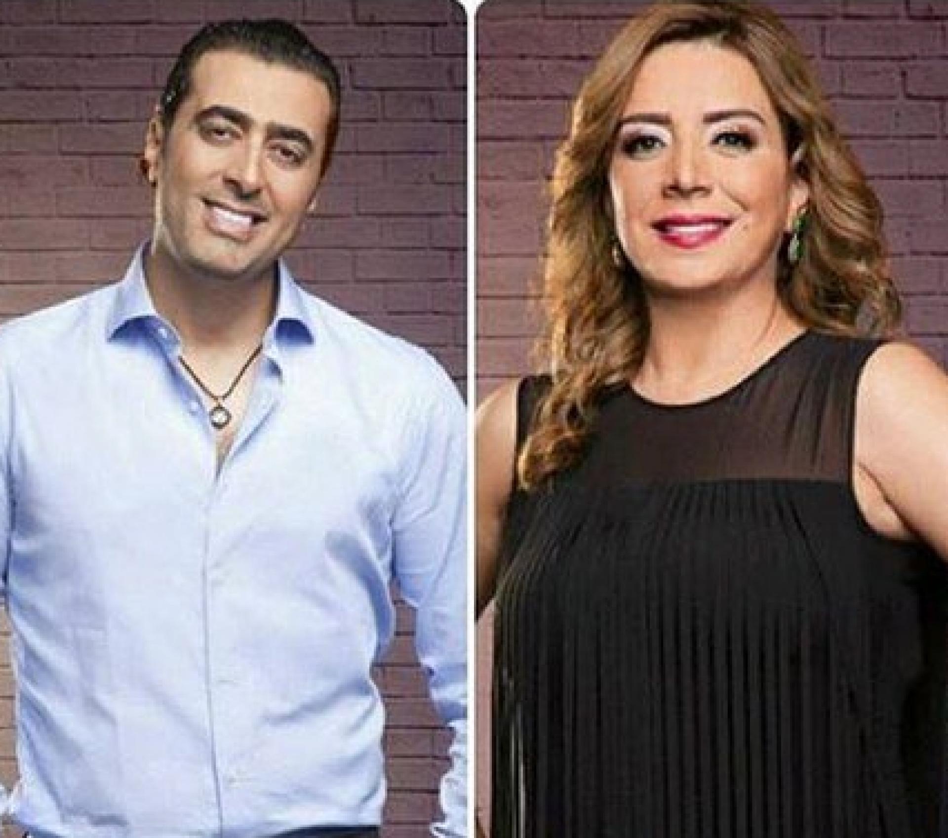 بالفيديو - باسم ياخور يثير الجدل وهو يتصبب عرقاً.. وهذا ما فعلته شكران مرتجى!؟   Laha Magazine