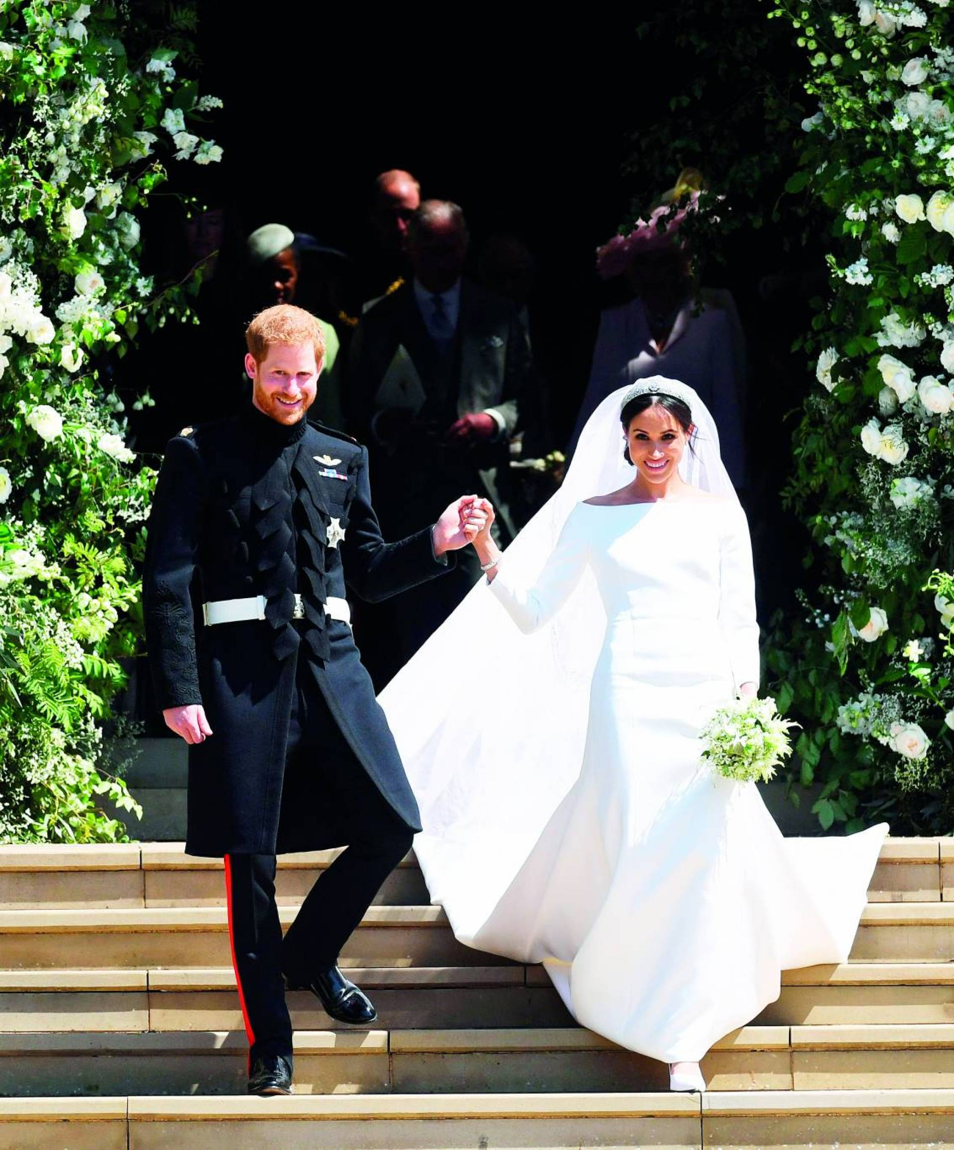 Megan And Harry Wedding.Wedding By Prince Harry And Megan Markle Break The British Royal