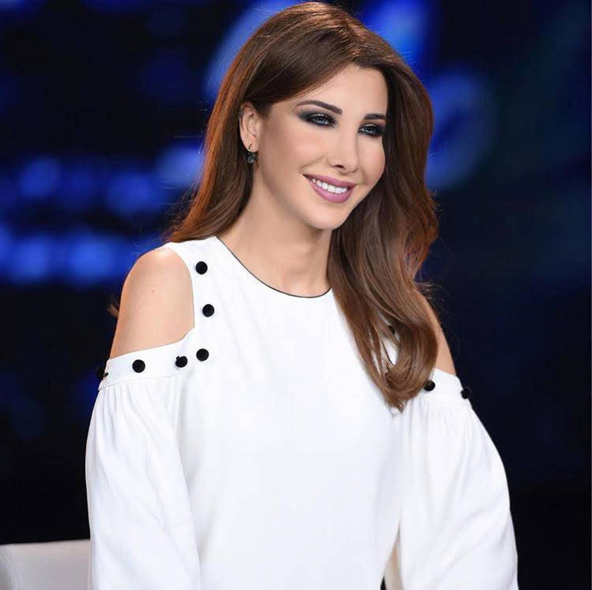 Image result for نانسي عجرم باللون الابيض