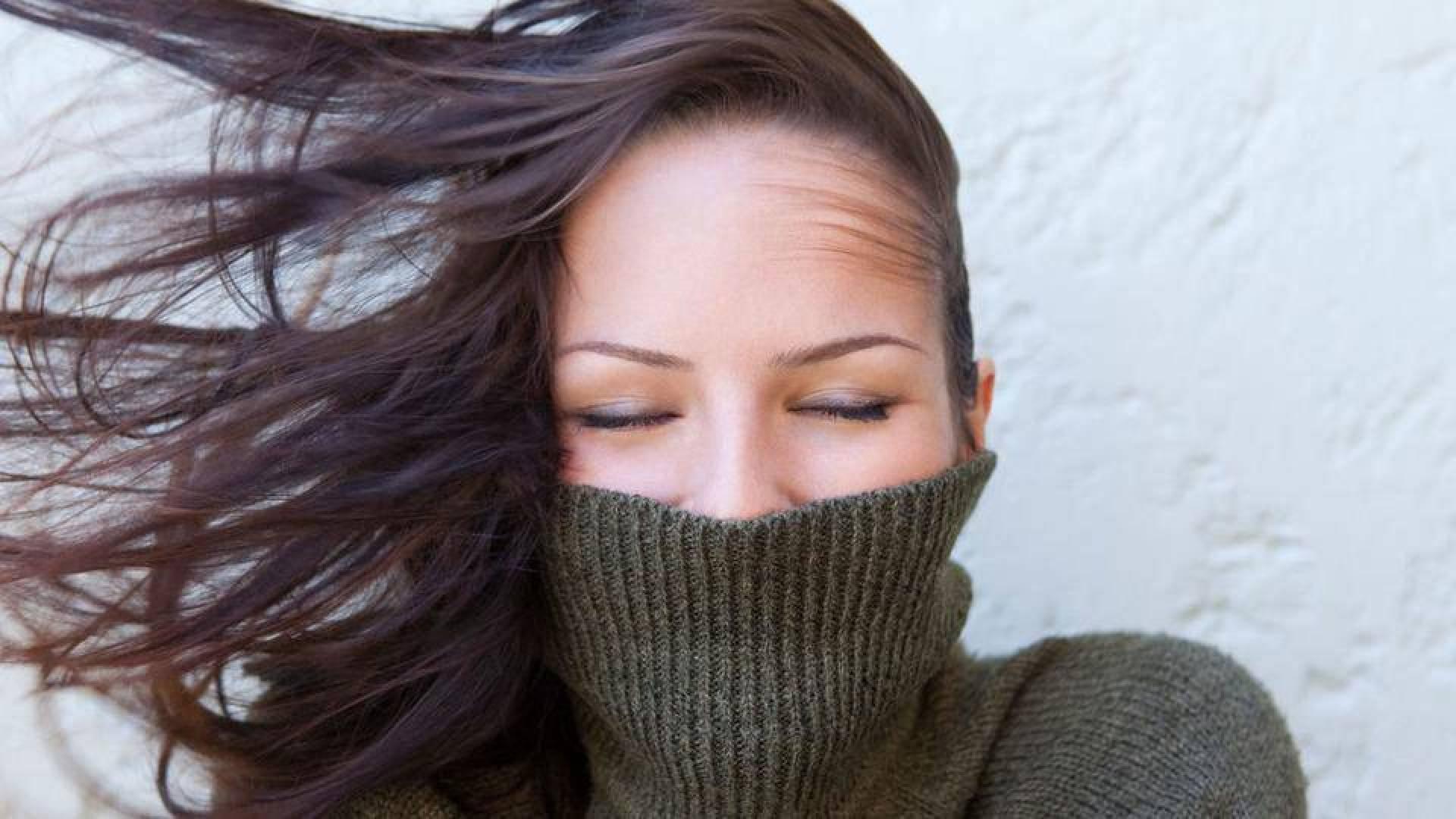 حماية الشعر الشتاء