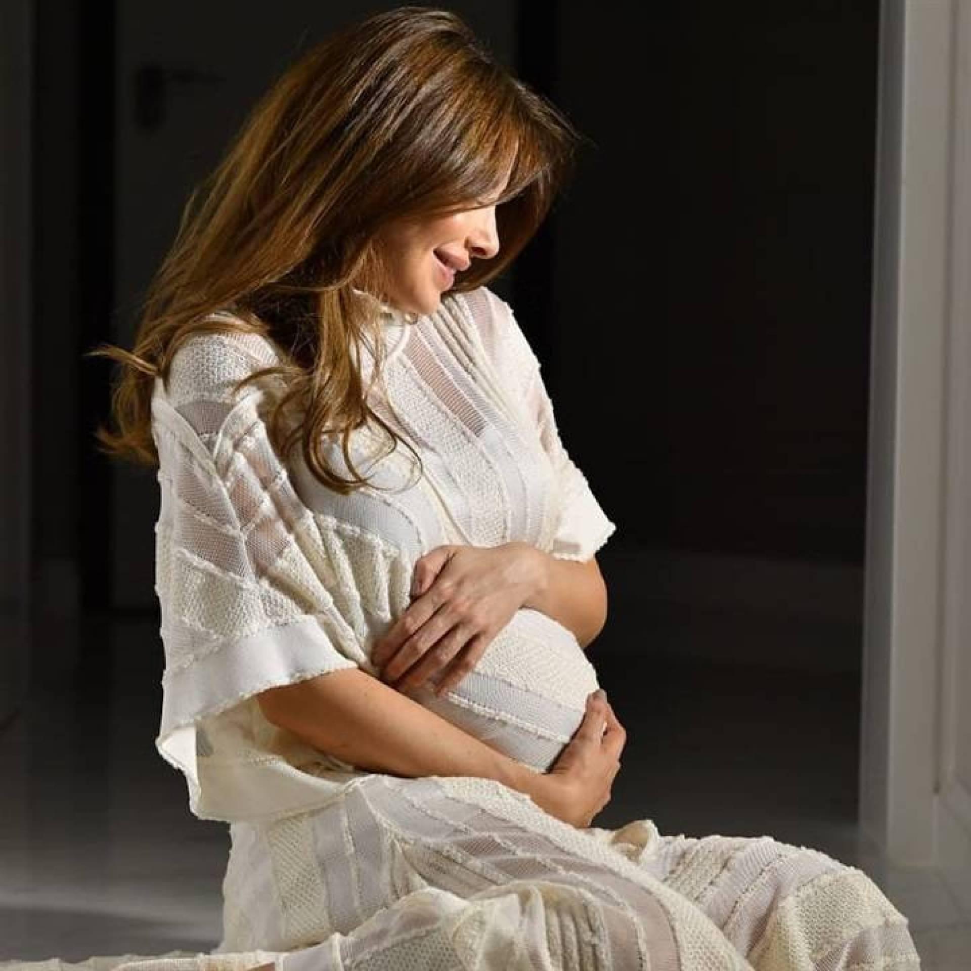 تامر حسني يهنئ نانسي عجرم بمولودتها الجديدة بطريقته الخاصة إليكم