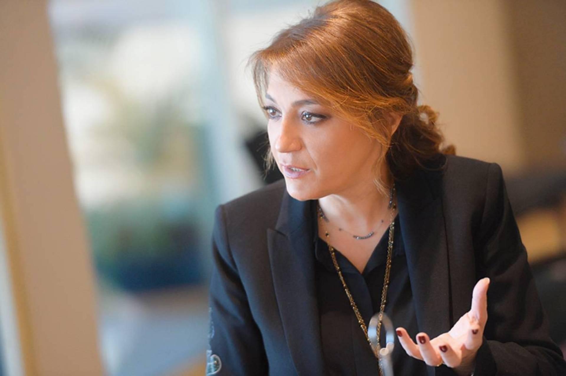 المستشارة الأولى لرئيس الجمهورية اللبنانية ميراي عون الهاشم القرن
