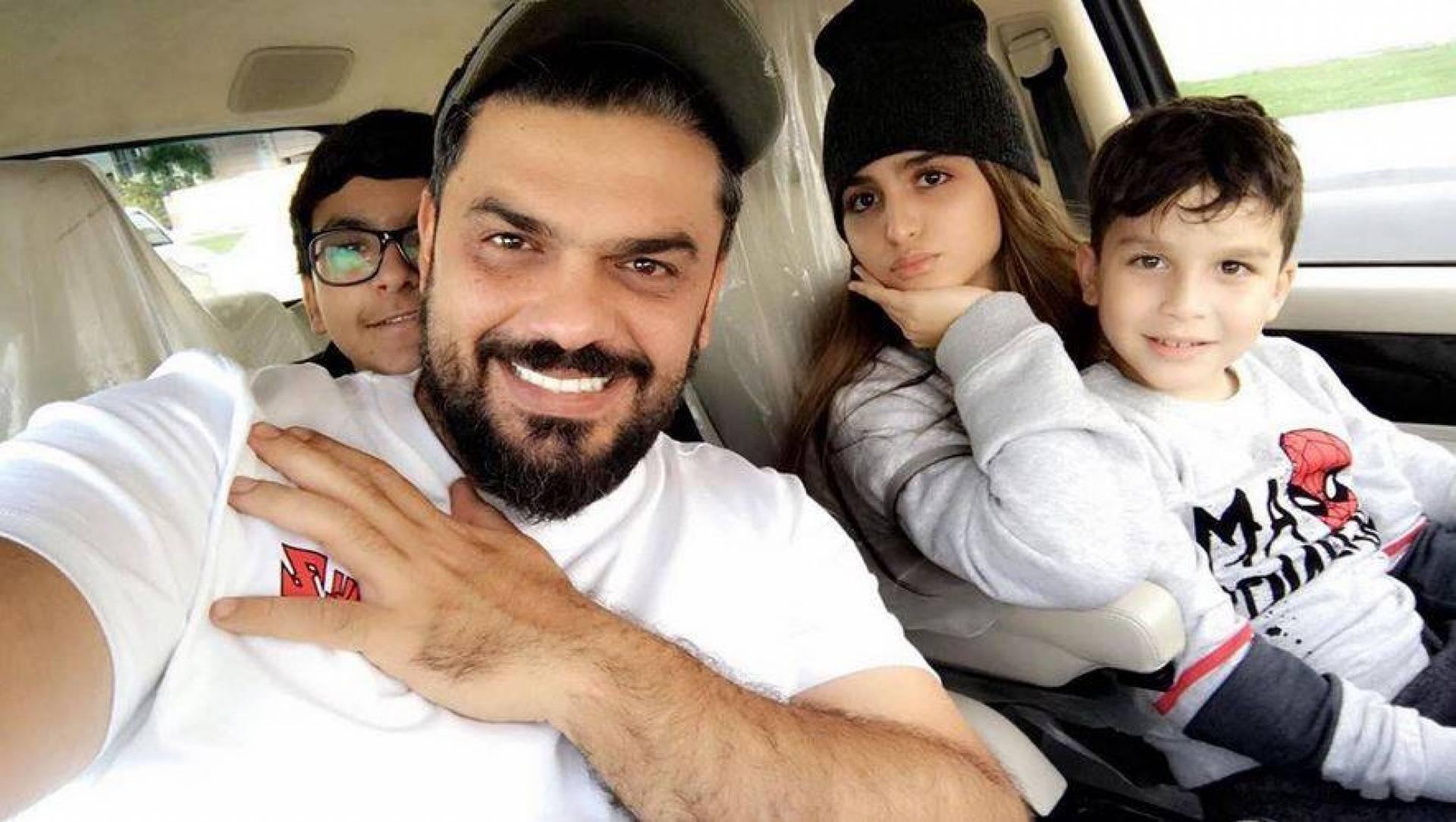 بالصور– بعد المصالحة هل أمضت حلا الترك العيد مع والدها ودنيا بطمة؟ هذا ما حدث