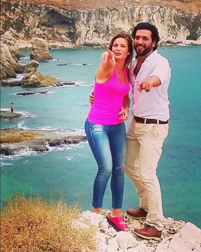 بالصور ـ حسن الرداد يدخل مدرسة الحب مع باميلا الكيك Laha
